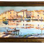 Vue de port Martigues